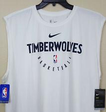 Nike Minnesota Timberwolves Nba Team Issued Shirt White Ar2646-100 (Size 3Xl)
