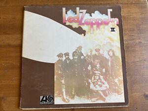Led Zeppelin II LP UK first press selten