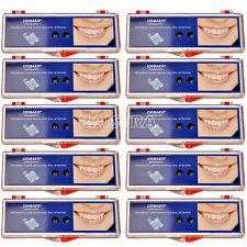 20X ORMAER Dental Orthodontic Ceramic Bracket Brace 5*5 MBT Roth.022 3,4,5 Hooks