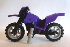 Lego pueblo/ciudad Moto-Púrpura Oscuro Bici De La Suciedad-Nuevo-todas las piezas nuevas