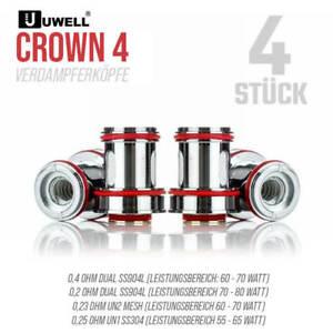 UWELL Crown4 - Coils Verdampfereinheiten 0,2 - 0,4 - 0,23 Mesh - ORIGINAL Coil