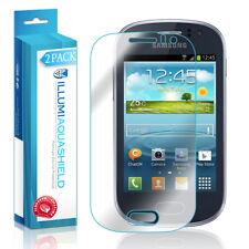 2x iLLumi AquaShield Crystal HD Clear Screen Protector for Samsung Galaxy Fame