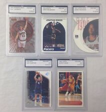 Lot of 5 FGS Graded Gem Mint 10 NBA Basketball Cards Dirk Nowitzki Derek Fisher