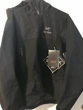 Arc'teryx Beta SL Hybrid Black Rain Jacket Shell Men's Large New With Tag