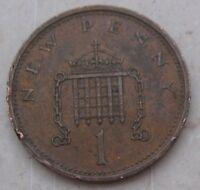 1 New Penny Elisabetta II  1971 - n 1044