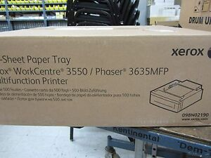Xerox WorkCentre 3550 / Phaser 3635MFP 098N02190 500 Sheet Paper Tray