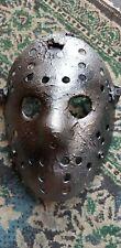 Friday the 13th metal effect Jason  Vorhees  custom made Mask Halloween horror