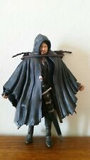 "Lord Of The Rings Super Poseable Strider 6"" Action Figure Complete Toybiz"