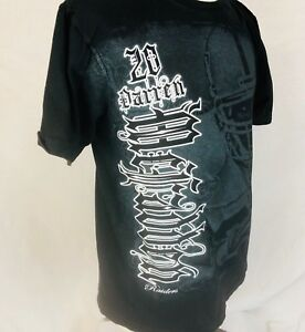 Oakland Raiders #20 Darren McFadden Black Crew Neck T Shirt NFL Size Large