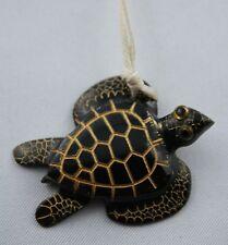 Horn Carving  Schildkröte Anhänger