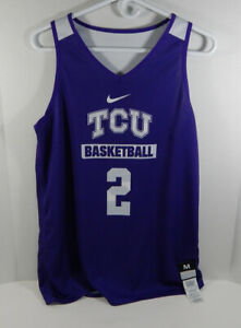 Texas Christian TCU Horn Frogs #12 Black Nike Volleyball Game Used Jersey 82