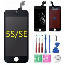 For iPhone 5s/5SE Black LCD Screen Digitizer Touch Assembly Replacement + Camera