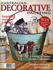 ART MAGAZINE - AUSTRALIAN DECORATIVE PAINTING MAGAZINE VOL 13 NO 6