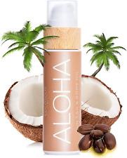 Cocosolis Aloha - Huile Bronzante Chocolat, Huile Bio Pour Un Bronzage Naturel -