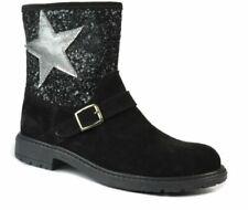 Chaussures noirs pour fille, daim