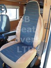 TO FIT A TALBOT EXPRESS MOTORHOME, SEAT COVERS MH-012 REGGIE BROWN, 2 FRONTS
