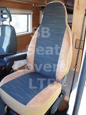 Para adaptarse a un PEUGEOT BOXER AUTOCARAVANA, de 2003, cubiertas de asiento MH