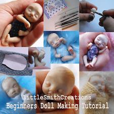 OOAK Polymer Clay Baby Art Doll Tutorial