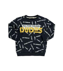 EMC Sweater Sweatshirt Jungen URBAN Blue Gr. 98 104 110 116 122 NeU