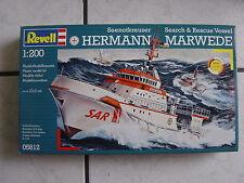 "Revell  Modellbausatz -Seenotkreuzer ""Hermann Mar- Schiff 1:200- im Karton -ovp."
