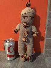 Vintage SOCK Baby CLOWN Monkey Style Doll  Needs TLC