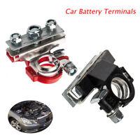 12V 3Way +/- Battery Terminals Connectors Clamps Car Motorhome Van Caravan