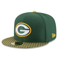 Green Bay Packers New Era 59 Fifty NFL Sideline Fitted Hat Cap 7 1/2