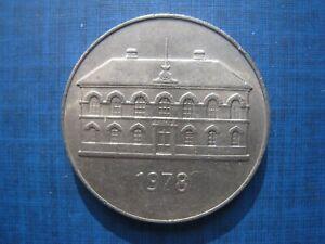 Iceland 50 Kronur 1978.