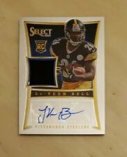LeVEON BELL ROOKIE AUTO, 2013 PANINI SELECT, RPA #d 338/499, MINT