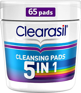 Clearasil Rapid Action Pads, 65 each