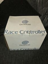 DREAMCAST Official Race Controller (Sega Steering Wheel) BOXED Rare Unused