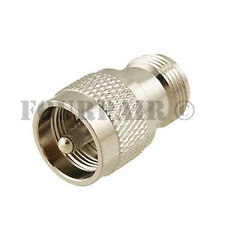 4 Pack Lot UHF PL-259 Male Plug to N Female Jack RF Adapter Converter Connector