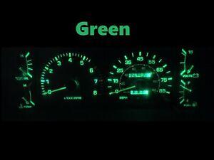 Gauge Cluster LED Dashboard Bulbs Green For 84 88 Toyota Pickup SR5 4Runner