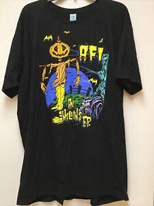 AFI All Hallows EP Album Men's XL T Shirt Official Totalimmortal A Fire Inside