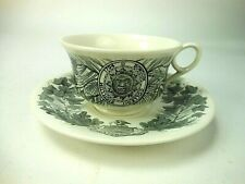 Wedgwood  Cup &Saucer Bowdoin College 1947