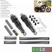 "For Harley-Davidson Sportster 10.5"" Rear Shocks Absorbers Complete lowering kit"