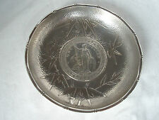Chinese Export Coin plat argent sterling circa 1920