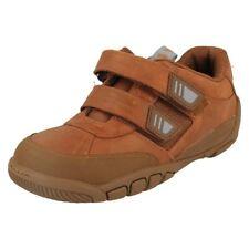 Chaussures marrons en cuir pour garçon de 2 à 16 ans Pointure 31