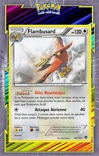 🌈Flambusard - XY11:Offensive Vapeur - 96/114 - Carte Pokemon Neuve Française