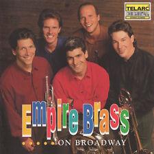 EMPIRE BRASS ON BROADWAY - CD
