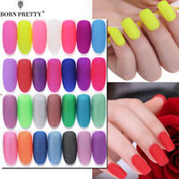 BORN PRETTY 5/6ml Nail Art Gel Polish Matte Soak Off UV Gel Varnish
