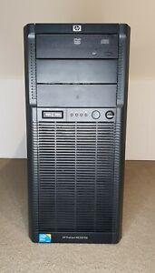 HP ProLiant ML330 G6   Single Xeon Quad Core E5620 @2.40GHz   8GB RAM