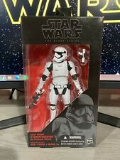 FIRST ORDER STORMTROOPER BLACK SERIES 4 STAR WARS MIB FIRST WAVE RUN