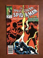 Spectacular Spiderman #134 (1988) 8.5 VF Marvel Key Issue Copper Age