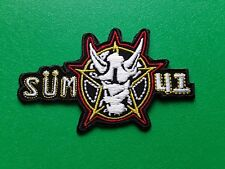PUNK ROCK HEAVY METAL MUSIC SEW / IRON ON PATCH:- SUM 41 (a)