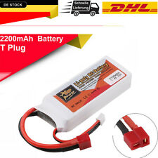ZOP POWER 7.4V 2200Mah 2S 35C Lipo Batterie T Stecke für RC Racing Drohne RC Car