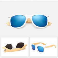 Summer Fashion Bamboo Sunglasses Wooden Mens Womens Retro Vintage Glasses