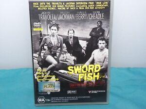 SWORD FISH DVD John Travolta, Hugh Jackman, Halle Berry VGC