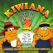 Kiwiana Goes Pop vol 2 cd with John Clarke,John Hore,Tim Finn,Billy T James