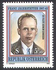 Austria 1993 Franz Jagerstatter/People/War/Military/WWII/Peace 1v (n40665)